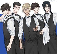 Detective Conan Wallpapers, Kaito Kid, Amuro Tooru, Detektif Conan, Kudo Shinichi, Magic Kaito, Hot Anime Guys, Manga Comics, Illustrations And Posters