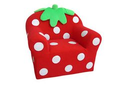 Strawberry couch.