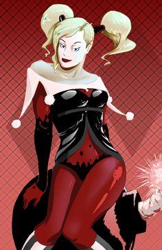 Harley And Joker Comique, Joker Et Harley Quinn, Illustrations De Batman.