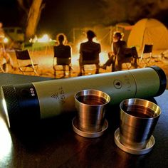 This flashlight that doubles as a flask. | 19 Things That Will Actually Help You Survive The Zombie Apocalypse