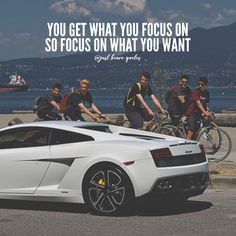 Stay focused, put in work and one day you'll be the one owning the lambo. People are always going chase after your success. Focus Quotes, Study Motivation Quotes, Motivational Quotes For Success, Attitude Quotes, Wisdom Quotes, Motivation Inspiration, Positive Quotes, Life Quotes, Inspirational Quotes