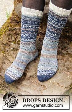 Socks & Slippers - Free knitting patterns and crochet patterns by DROPS Design Baby Patterns, Knitting Patterns Free, Free Knitting, Knitting Socks, Baby Knitting, Free Pattern, Crochet Patterns, Drops Design, Crochet Socks