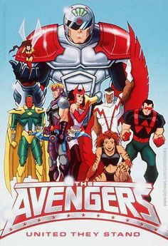 wonder man + scarlet witch   The Avengers - United They Stand