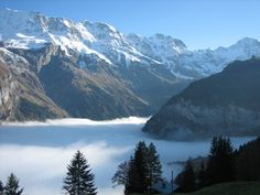 it's really this beautiful. Swiss Alps, Switzerland, Places To See, The Darkest, Skiing, Travel Destinations, Ireland, How To Find Out, Porn