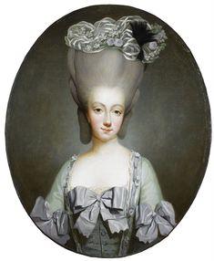 Joseph Ducreux, Memento Mori, Jean Antoine Watteau, Maria Theresa, Miniature Portraits, French History, 18th Century Fashion, Marquise, Marie Antoinette