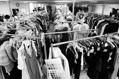 Mad Men wardrobe room