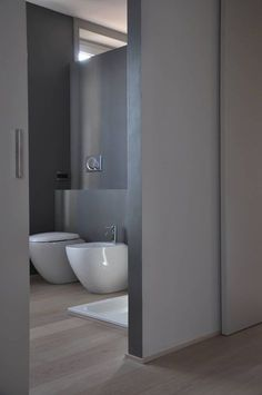 casa ELE: Bagno in stile in stile Moderno di PAOLO CAPRIGLIONE ARCHITETTO