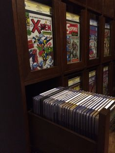 Drawer sample - drawer guide rated at capacity - Gamer House Ideas 2019 - 2020 Comic Book Rooms, Comic Room, Comic Book Storage, Comic Book Display, Movie Storage, Geek Room, Nerd Cave, Man Cave, Comic Book Collection