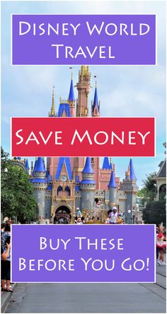 Save money at Disney World by buying and packing these items before you go! Complete Disney World packing list.