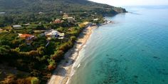 Пляж Парамонас Corfu Island, Beaches, Greece, Explore, Water, Outdoor, Greece Country, Gripe Water, Outdoors