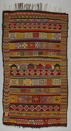 Object Name: Rug Place Made: Africa: North Africa, Tunisia, Gafsa  Governorate