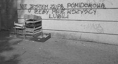 Znalezione obrazy dla zapytania fajne napisy na murach