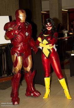 DragonCon 2011 Iron Man & SpiderWoman