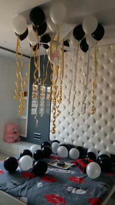 Birthday decorative idea #balloon#gifts