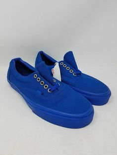 d112ad6a34 VANS ERA GOLD MONO NAUTICAL BLUE SKATE SNEAKERS MEN S SIZE 8.5 WOMEN S SIZE  10  fashion  clothing  shoes  accessories  unisexclothingshoesaccs ...