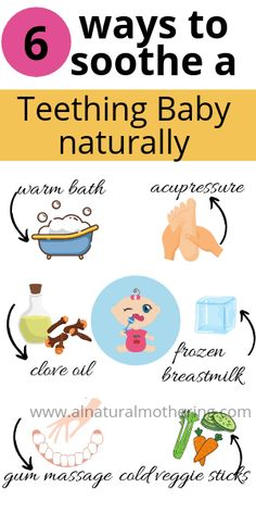 Natural Teething Remedies : 5 Ways to Soothe a teething baby Babies inquiring the development … Baby Teething Symptoms, Baby Teething Remedies, Natural Teething Remedies, Teething Babies, Natural Remedies, Teething Medicine, Baby Medicine, Baby Cough Remedies, Natural Teeth Whitening