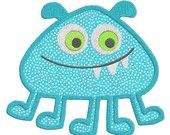 Monster APPLIQUE Machine Embroidery Designs