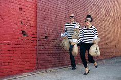 "Alex & Kim's ""Partners In Crime"" Engagement shoot by Amanda Rynda!"
