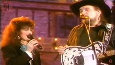 Waylon Jennings and Jessi Colter - Suspicious Minds - when the cowboy sings