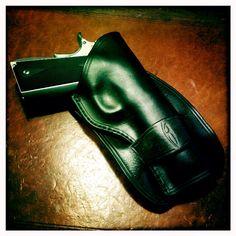 Custom gun grips, Curly black walnut on a Bond Arms ...