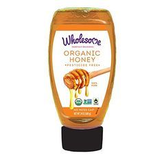 Wholesome Sweeteners Organic Honey, 24 Ounce