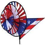 Patriotic Triple Spinner - Fly-Me Flag