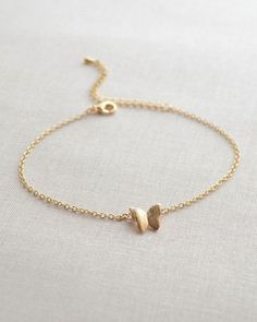 Butterfly Bracelet - Petite butterfly charm bracelet in gold or silver. Ultra feminine by Olive Yew. Adjustable from 7 - 9 inches. Stylish Jewelry, Cute Jewelry, Silver Jewelry, Fashion Jewelry, Silver Ring, Simple Bracelets, Cute Bracelets, Jewelry Bracelets, Gold Necklaces