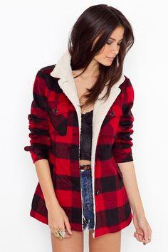 vintage ralph lauren lumberjack coat | Style | Pinterest | Coats