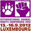 International Animal Rights Conference 2012 in Luxembourg