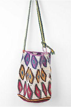 Hiptipico Crochet Bucket Bag
