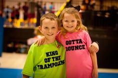 Fun for a Trampoline Party . Birthdays in a Trampoline Park! Trampoline Birthday Party, Birthday Party At Park, Backyard Birthday, Birthday Fun, Backyard Trampoline, Party And Play, Birthday Boy Shirts, Party Entertainment, Party Shirts