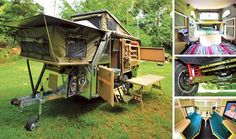 Conqueror UEV 490 Evolution Camper Trailer