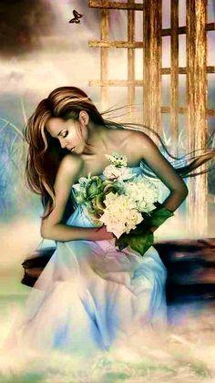 Digital Art Girl, Princess Zelda, Disney Princess, Disney Characters, Fictional Characters, Superhero, Goodies, Butterfly, Facebook
