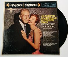 Jeanette MacDonald and Nelson Eddy - Favorites in Stereo vintage vinyl record album