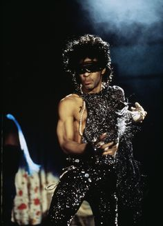 Prince - Rare pic from the Purple Rain Tour 1985