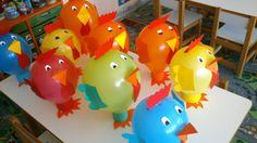 κοκοράκια απο μπαλονι