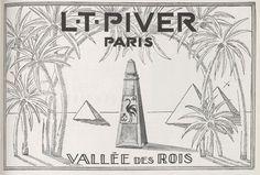 L.T. Piver Paris -  Valée des Rois - magazine Vogue 1926