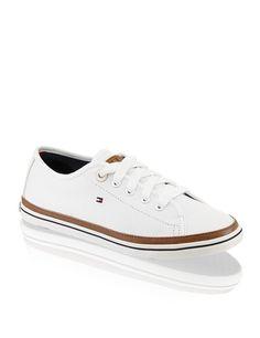 "HUMANIC - White Tommy Hilfiger Sneaker ""Kesha"" - http://www.humanic.net/at/Damen/Schuhe/Sneaker/Tommy-Hilfiger-Kesha-weiss-1421100815"