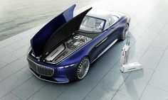 Mercedes-Maybach Unveils a Stunning New All-Electric Luxury Convertible | Architectural Digest