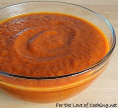 Red Enchilada Sauce - It was so simple to make and it tastes so much better than canned sauce. This sauce would be wonderful on enchiladas, tacos, and huevos rancheros.