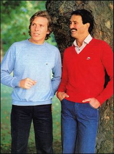 Menswear image from 1980