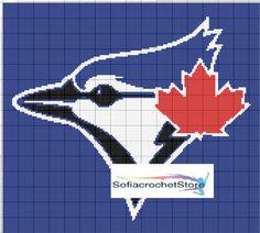 toronto blue jays logo blanket | Craftsy