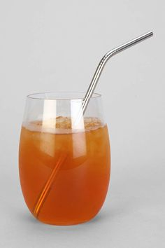 Stainless Steel Straw Set of (4) @ Urban Outfitters $16