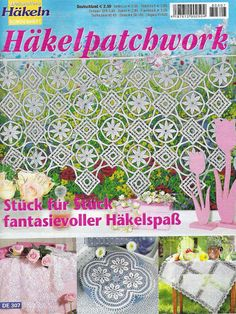 Dekoratives Hakeln Sonderheft - DE 307 Hakelpatchwork - Kristina Dalinke…