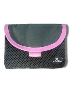 the running buddy - a hands free belt free running pouch - now with pink trim! check out https://www.facebook.com/therunningbuddy for a think pink Thursday giveaway!