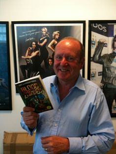 Ian Livingstone with the brand new Fighting Fantasy book, Blood of the Zombies, out now!