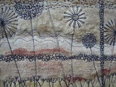 Threads of a story: Looking at texture and stitch.