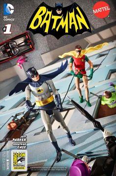 Batman #1, Mattel Variant Cover