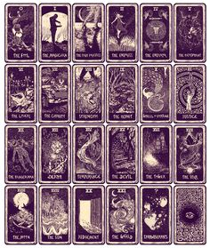 The Light Visions Major Arcana Cards  www.jamesreadsmerch.com