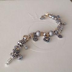 Stunning PANDORA bracelet shared by Isabel Rivero Roch.#MyPANDORA #PANDORAloves